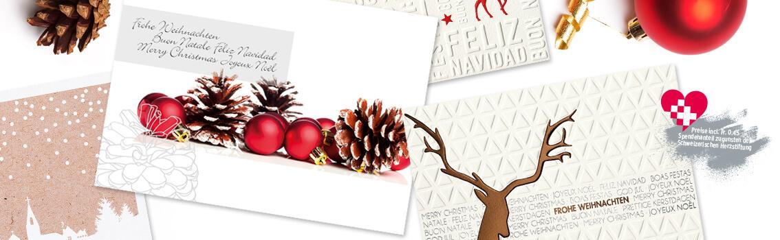 Santaverlag weihnachtskarten weihnachtsgr e weihnachtsgru karten weihnachtspost firmen - Weihnachtskarten shop ...